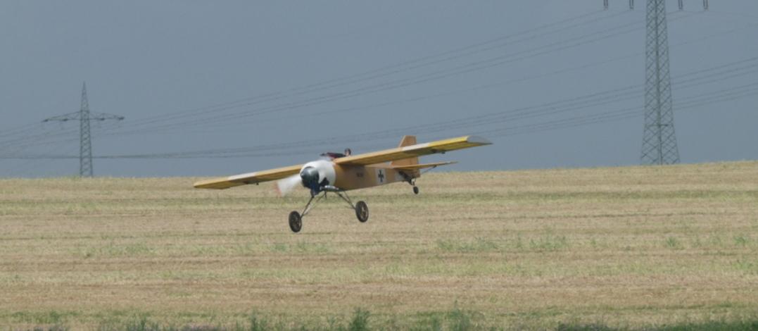 Fokker im anflug